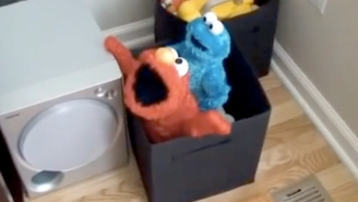 There Is No Greater Horror Than Elmo And Cookie Monster Toys Having X-Rated Fun Together