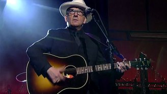 Late-Night Music: Elvis Costello Says Goodbye To David Letterman?
