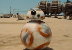 Holy Crap, Here's A Real-Life Working Model Of BB-8, The New Droid From 'Star Wars'