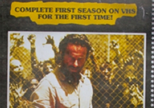 'The Walking Dead' and 'Game of Thrones' on VHS?