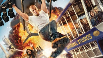 Vin Diesel Dangles From An Exploding Helicopter In This Incredible New Fast/Furious Poster