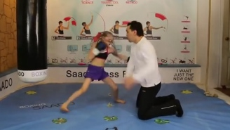 This 7-Year-Old Girl From Kazakhstan Is A Boxing Phenom