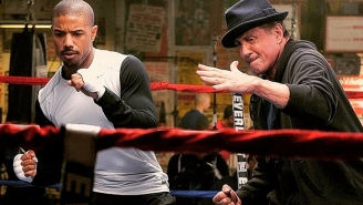 Sylvester Stallone has become the new Mickey in first image from 'Creed'