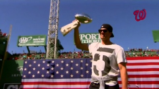 Tom Brady Throws Out The First Pitch In Boston And Makes It Clear He Wants Another Super Bowl
