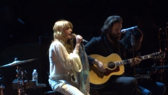 Florence Welch And Father John Misty Covered 'Love Hurts' At Coachella
