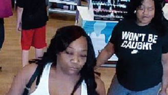 This Florida Woman Wearing A 'Won't Be Caught' T-Shirt Allegedly Stole $1,500 In Perfume