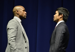Floyd Mayweather Calls Manny Pacquiao A 'Coward,' Says There Won't Be A Rematch