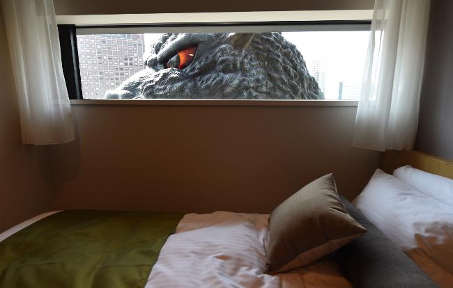 Godzilla is the Tokyo tourism ambassador 2