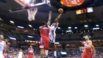 Jeff Green Scrapes The Ceiling For Towering Poster Dunk On Kevin Seraphin