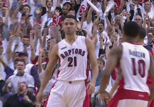 Watch Greivis Vasquez Hit The Game-Tying Three, But The Wizards Still Win In OT