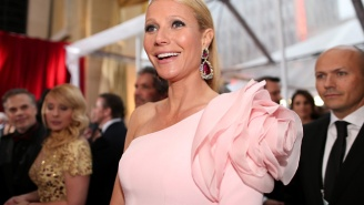 Gwyneth Paltrow Reportedly Ended Her Food Stamp Challenge With A Fireball Shot