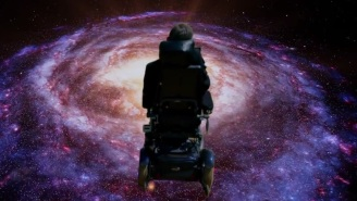 Stephen Hawking Performs In Monty Python's New 'Galaxy Song' Music Video