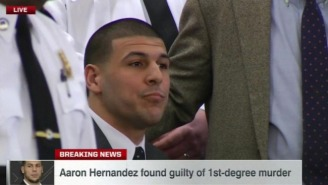Aaron Hernandez Found Guilty Of Murder And Will Spend Life In Jail Without Parole