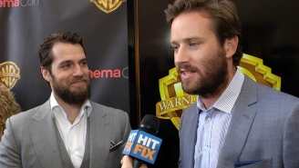 Adorable: Henry Cavill and Armie Hammer were inseparable on the 'Man from UNCLE' set
