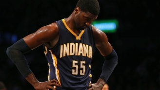 Report: The Indiana Pacers Are 'Shopping Roy Hibbert Hard' In Trade Talks