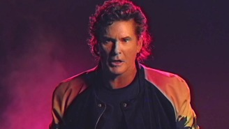 David Hasselhoff Rides Again In His Incredible 'True Survivor' Music Video