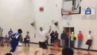Is This The Alley-Oop Of The Year…Or Just A Really Bad Travel?