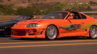 Paul Walker's Toyota Supra From 'The Fast And Furious' Can Soon Be Yours For The Right Price