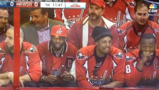 Paul Pierce Continues His Troll-A-Thon During The Capitals' Game 7 Win Over The Islanders