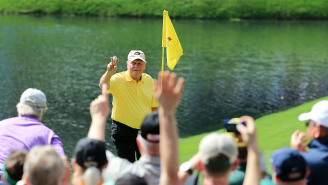 Watch 75-Year-Old Jack Nicklaus Hit A Hole-In-One At The Masters Par 3 Contest