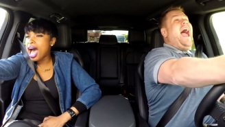 Watch Jennifer Hudson And James Corden Sing At The Drive-Thru On 'The Late Late Show'
