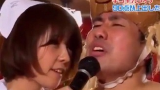Now There's Finally A Japanese Game Show That Mixes Karaoke Competition With Handjobs