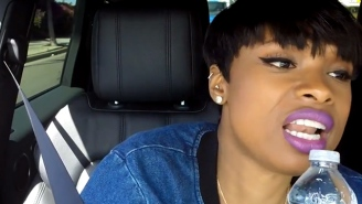 Jennifer Hudson singing her cheeseburger drive-thru order is The Greatest