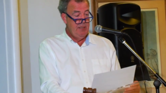 Here's Jeremy Clarkson Auctioning Off 'Top Gear' Merchandise For Charity