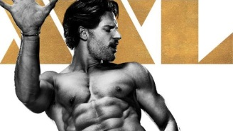 Joe Manganiello Lets It All Out In His 'Magic Mike XXL' Poster