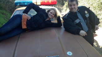 Patton Oswalt And Joelle Carter Teased Tonight's 'Justified' On Twitter