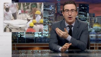 'Last Week Tonight With John Oliver' Reminds Us Of The True Costs Of High Fashion