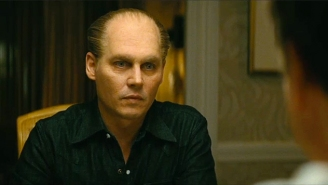 A Horrifying, Ginger-Face Johnny Depp Plays Whitey Bulger In The Trailer For 'Black Mass'