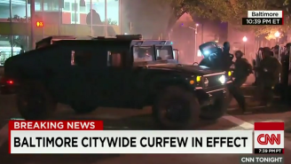 Watch This Baltimore Protestor Get 'Kidnapped' Live On CNN