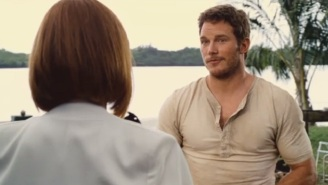 'Jurassic World' First Clip: Chris Pratt Respects The Raptors