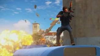 Watch 'Just Cause 3' Trash The Joint In A New Gameplay Trailer