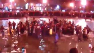 Kanye West Held An Impromptu Concert In Armenia's Swan Lake