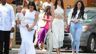This Is How The Kardashians Dressed For Church On Easter Sunday