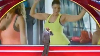 'Inside The NBA' Pranked Kenny Smith With This Video Of His Wife Exercising
