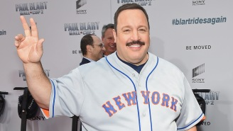 Kevin James Broke Two World Records At The Premiere Of 'Paul Blart: Mall Cop 2'