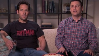Watch Jimmy Kimmel And Paul Rudd Destroy A Set Over A Denied 'Avengers' Post-Credits Scene