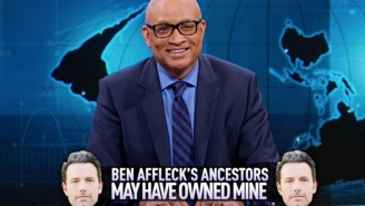 Ben Affleck takes a hit on 'Larry Wilmore' over PBS slave scandal