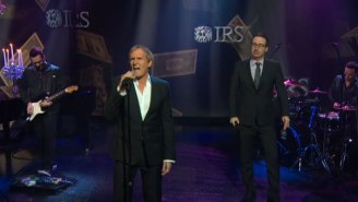 Watch John Oliver And Michael Bolton Sing A Love Song To The IRS On 'Last Week Tonight'
