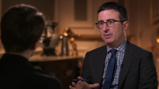 John Oliver Sat Down With Edward Snowden In Moscow To Discuss Dick Pics And Government Surveillance