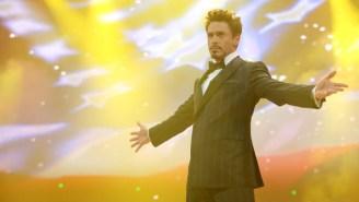 Robert Downey Jr. Had A Very Tony Stark-esque Party For His 50th Birthday