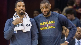 Surprising No One, J.R. Smith Thinks LeBron James Is The Real MVP