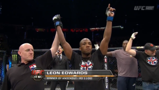Check Out This 8-Second Knockout From UFC Fight Night 64