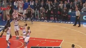 Brook Lopez Tips In The Game-Winner Against The Knicks at MSG
