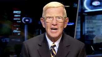 Say Goodbye To Lou Holtz With His Most Nonsensical Moment On ESPN