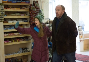 The Poop Scene From Last Night's Episode Of 'Louie' Was Four Years In The Making