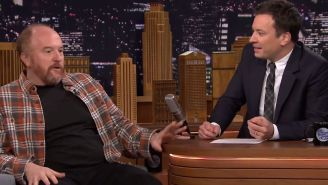 Louis CK crushed one of Jimmy Fallon's dreams. Really.